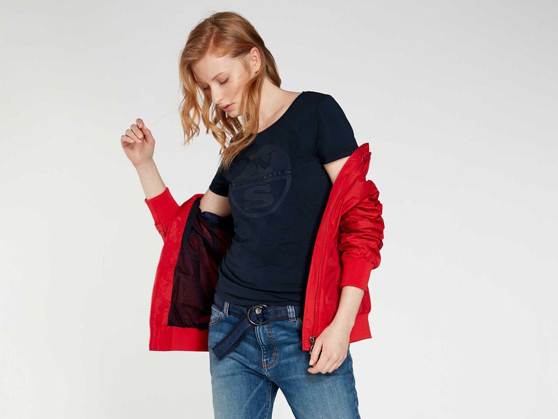 Spring/Summer T-shirt Woman