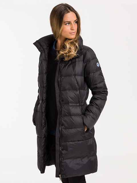 Napier Long Down Jacket