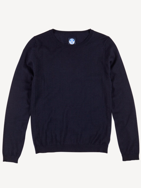 Crew Neck 14GG long sleeve
