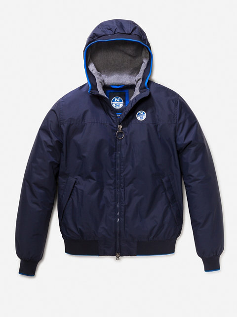 Sailor Hooded Jacket
