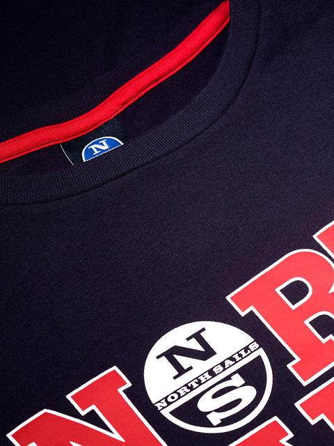 Printed Logo USA T-Shirt