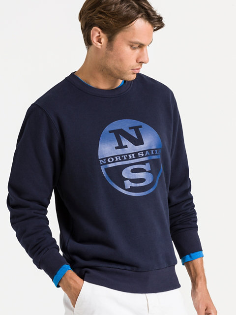 Round Neck Sweater Sweats Pulls North Sails Collection