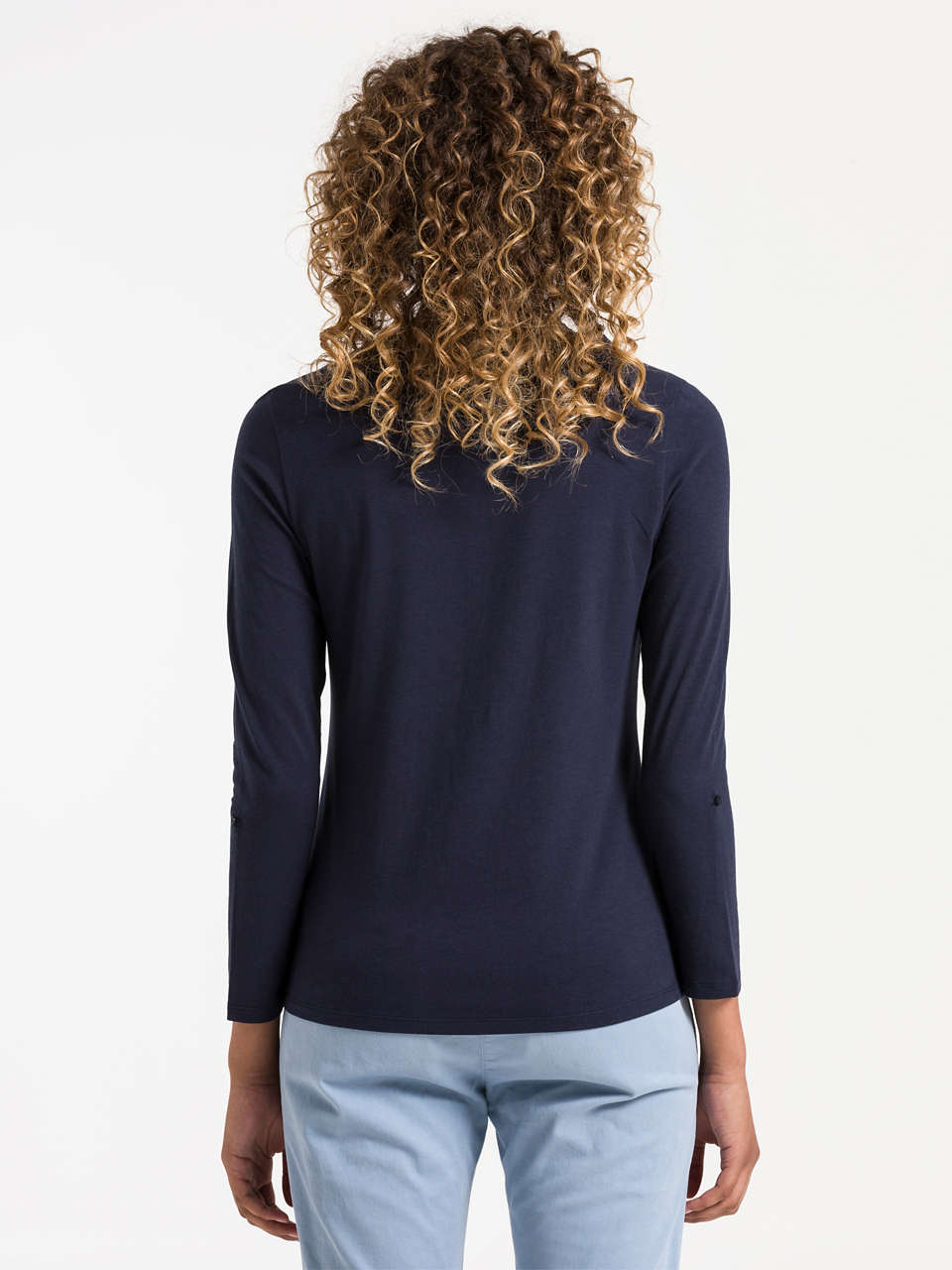 T-Shirt Longsleeve with Buttons