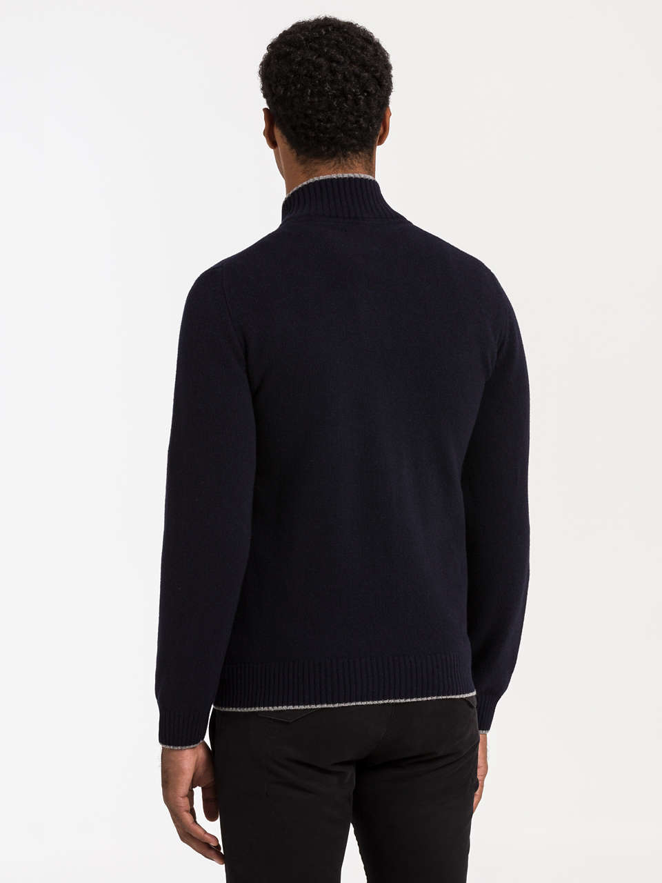 Half Buttons Sweater