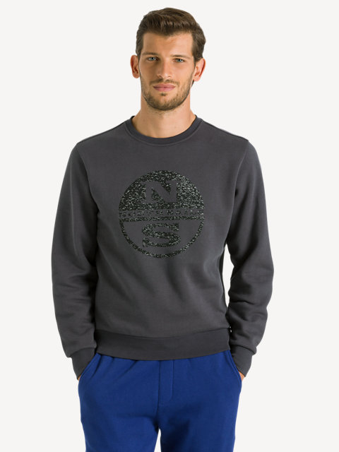 Lowell Sweat Round Neck Reflec