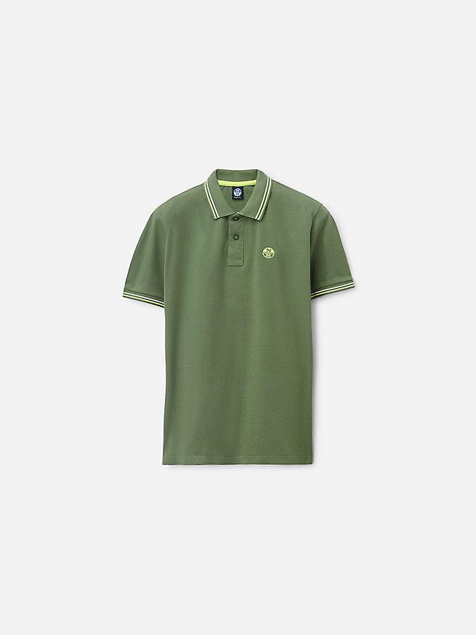 Green Polo 2970003A184159 Male North Sails
