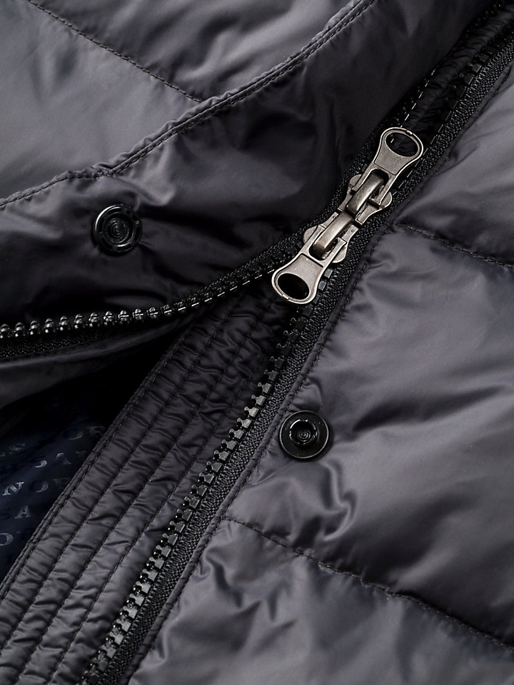 Napier Long Down Jacket