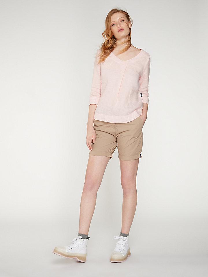 Shirt  V Neck 3/4 Sleeve