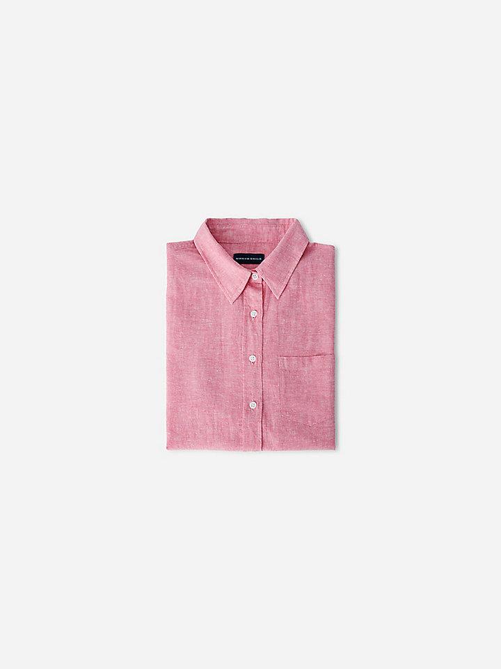 Linen and cotton shirt