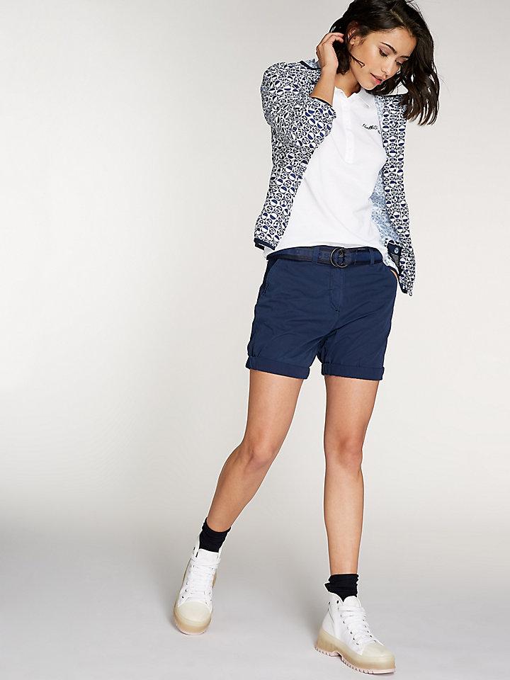 Garment-Dyed Chino Short