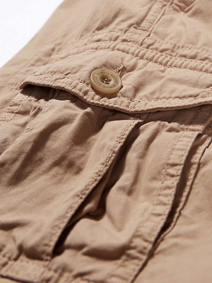Garment-Dyed Cargo Short