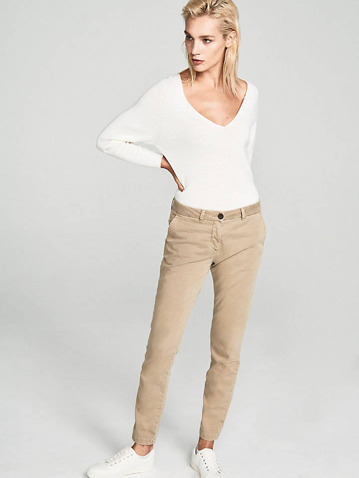 Regular-Fit Chino Trousers