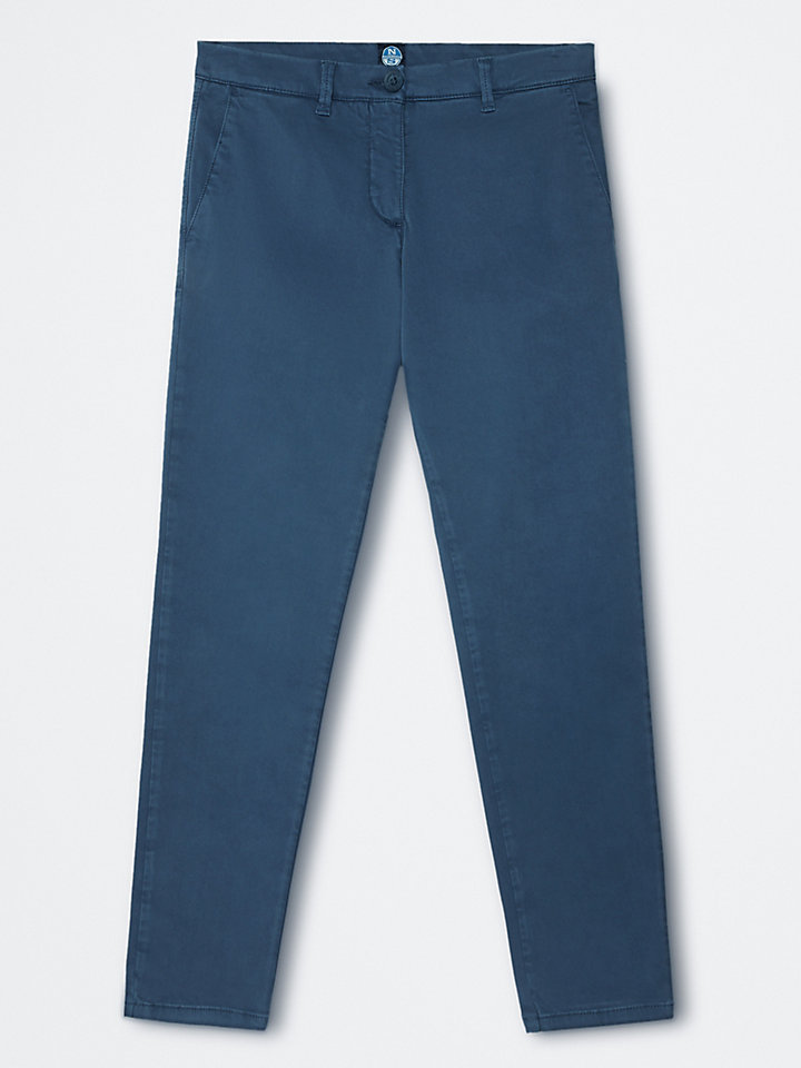 Loose-Fit Chino Trousers
