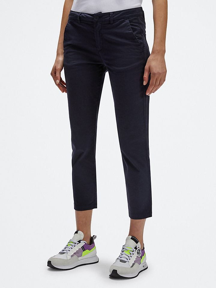 Gabardine trousers
