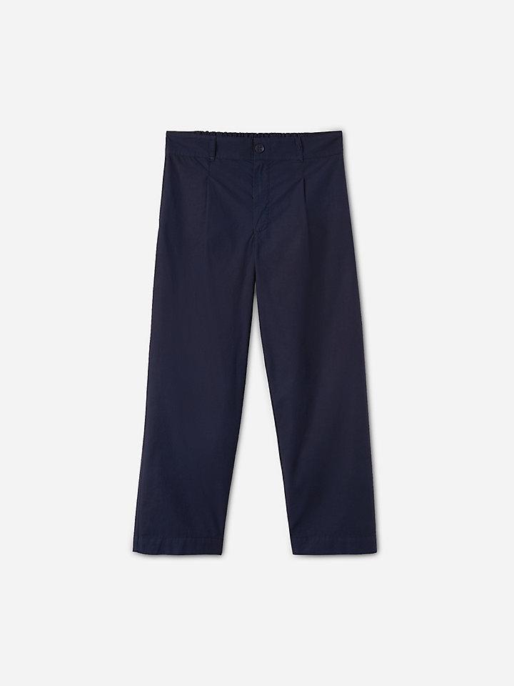 Poplin trousers