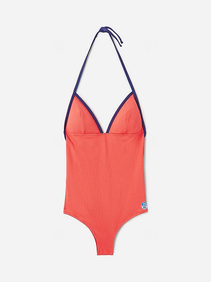Badeanzug mit offenem Rücken