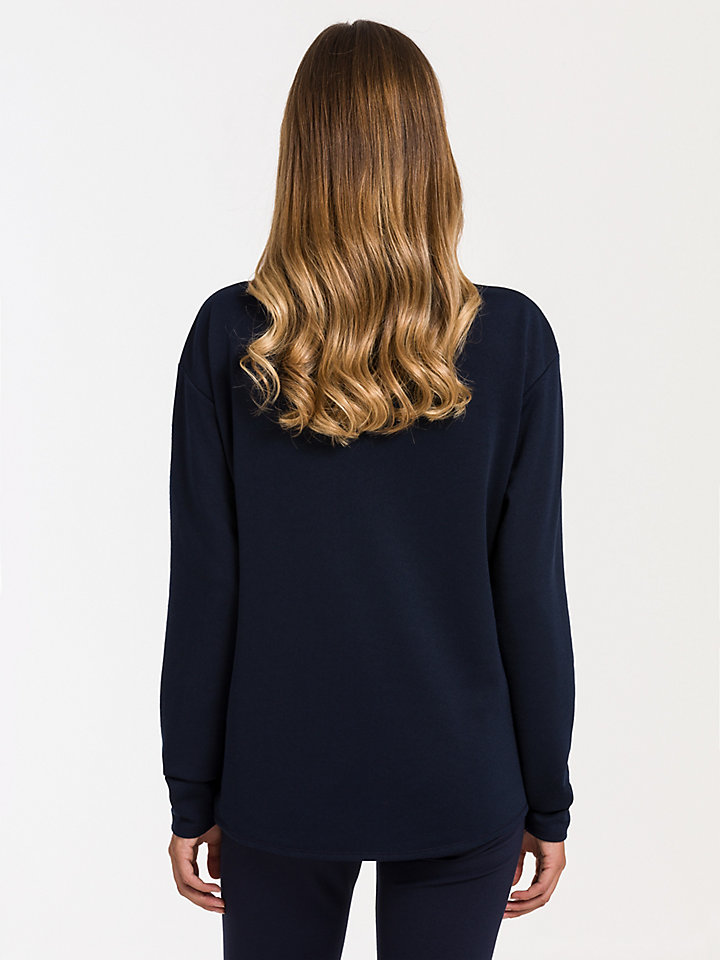 High Neck Sweat Sweater