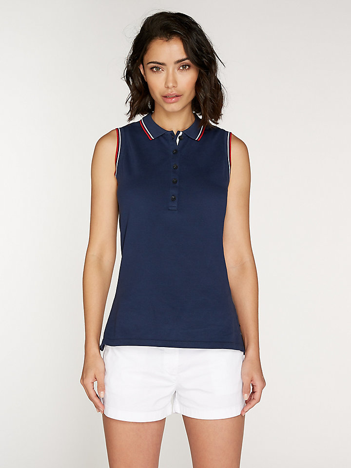 Polo Sleeveless Stretch