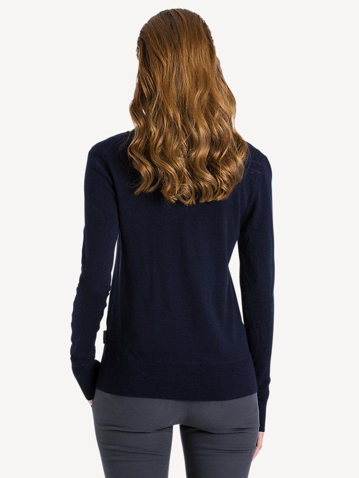 V-neck 14GG long sleeve