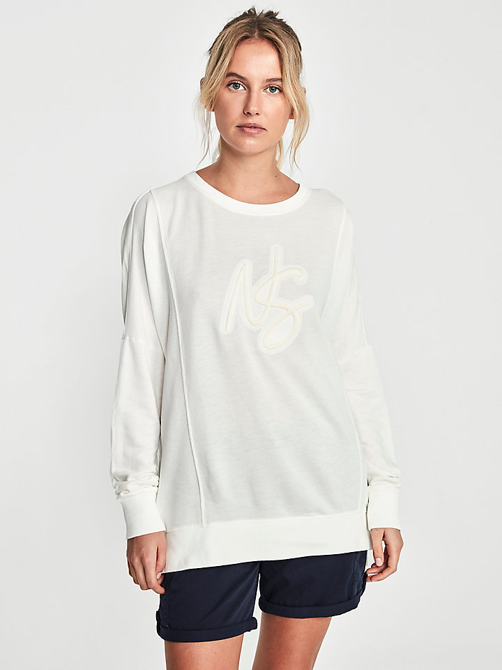 Cotton Blend Sweatshirt
