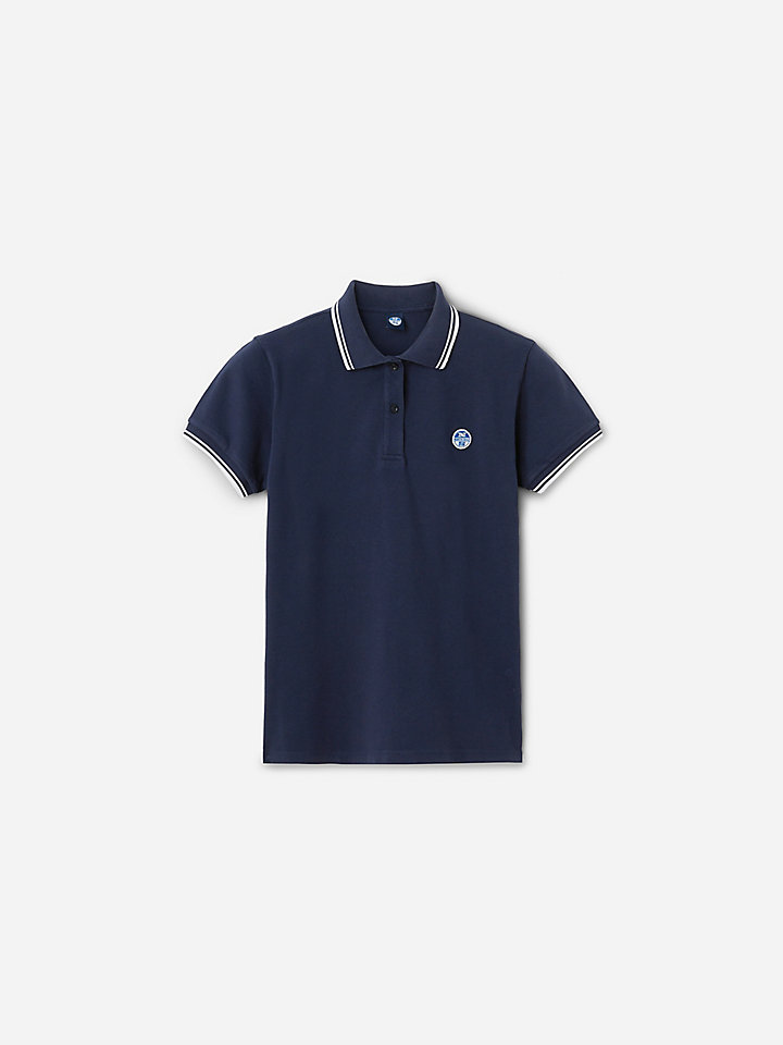 Stretch Piqué Polo Shirt