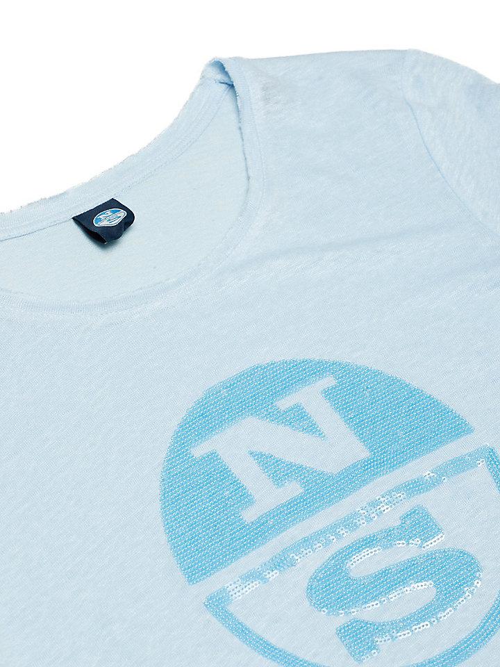 T-shirt van puur linnen