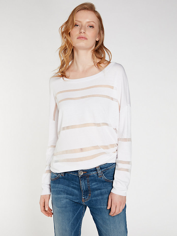 Striped Round Neck 14 Gg