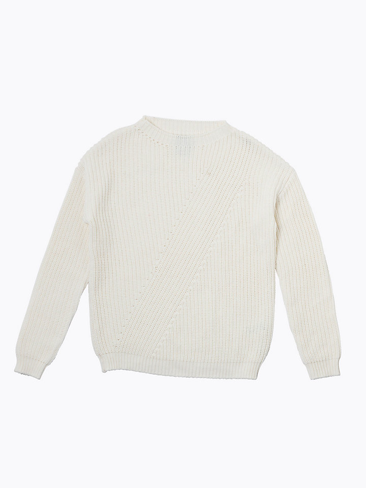 Wool Cotton Blend Jumper