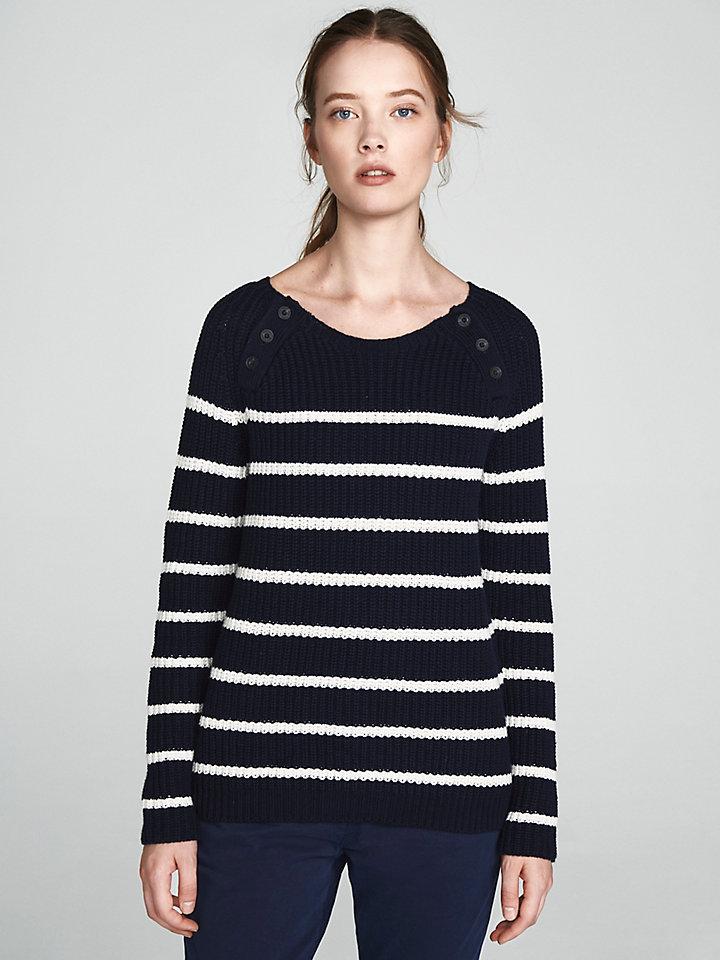 Wool Cotton Blend Jumper