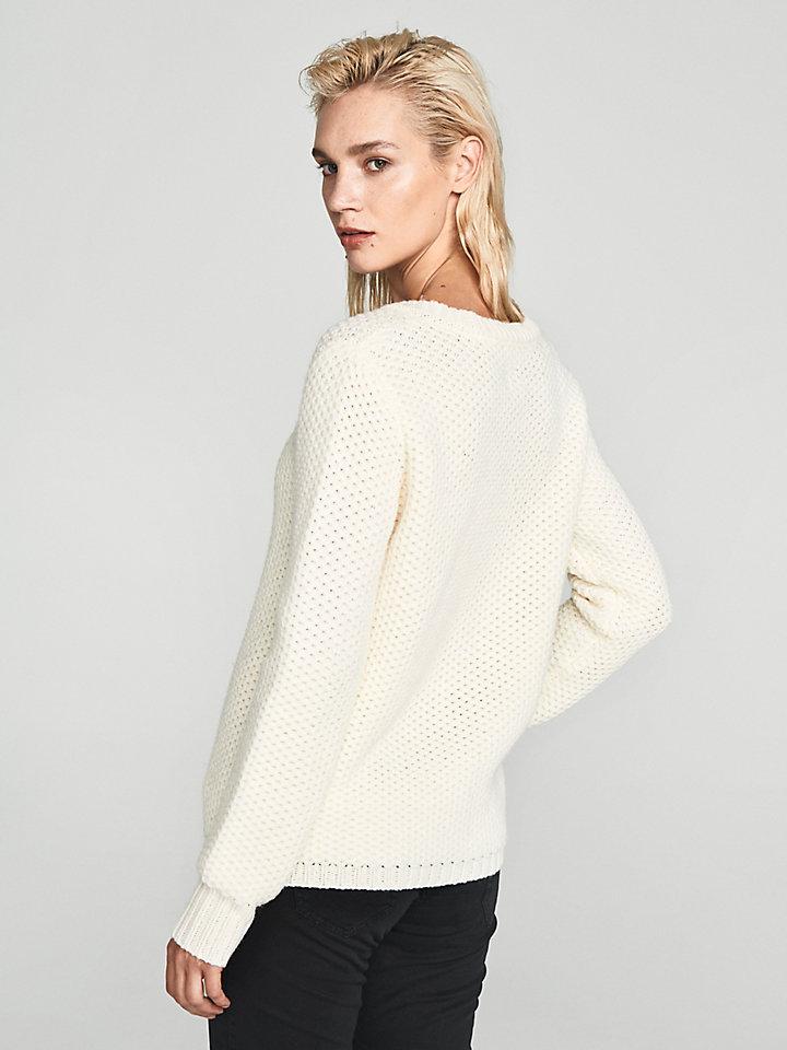 V Neck Wool Jumper