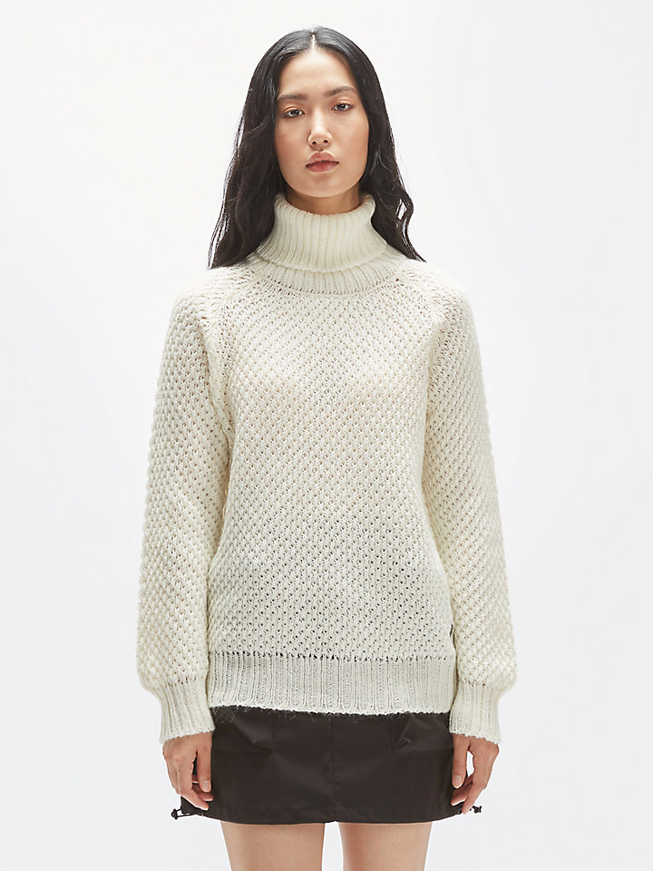 Maglione Dolcevita In Mohair
