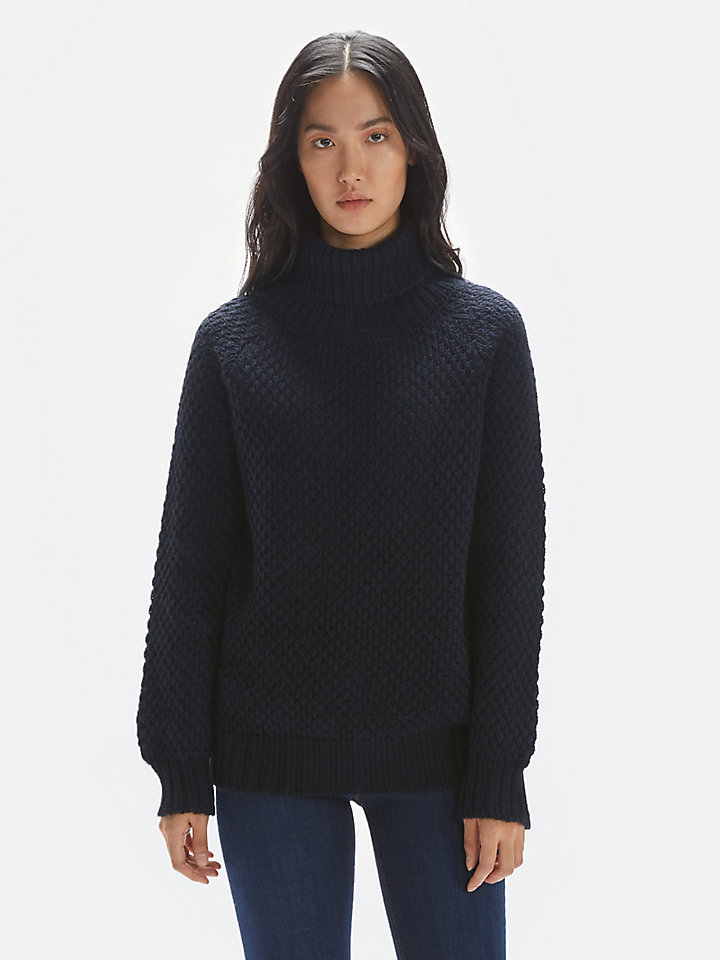 Mohair Turtle Neck Jumper