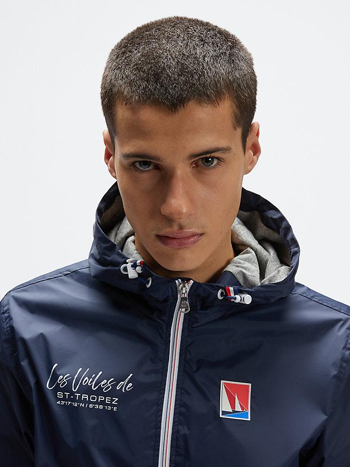 Recycled nylon jacket