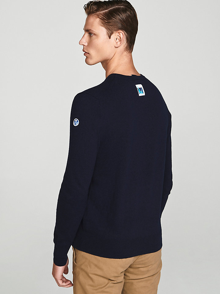 Saint-Tropez Embroidered Wool Jumper