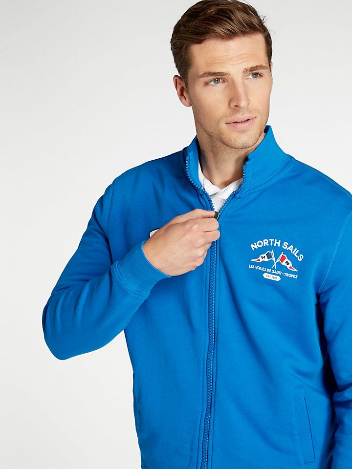 Saint-Tropez Full Zip Main Sail Sweater