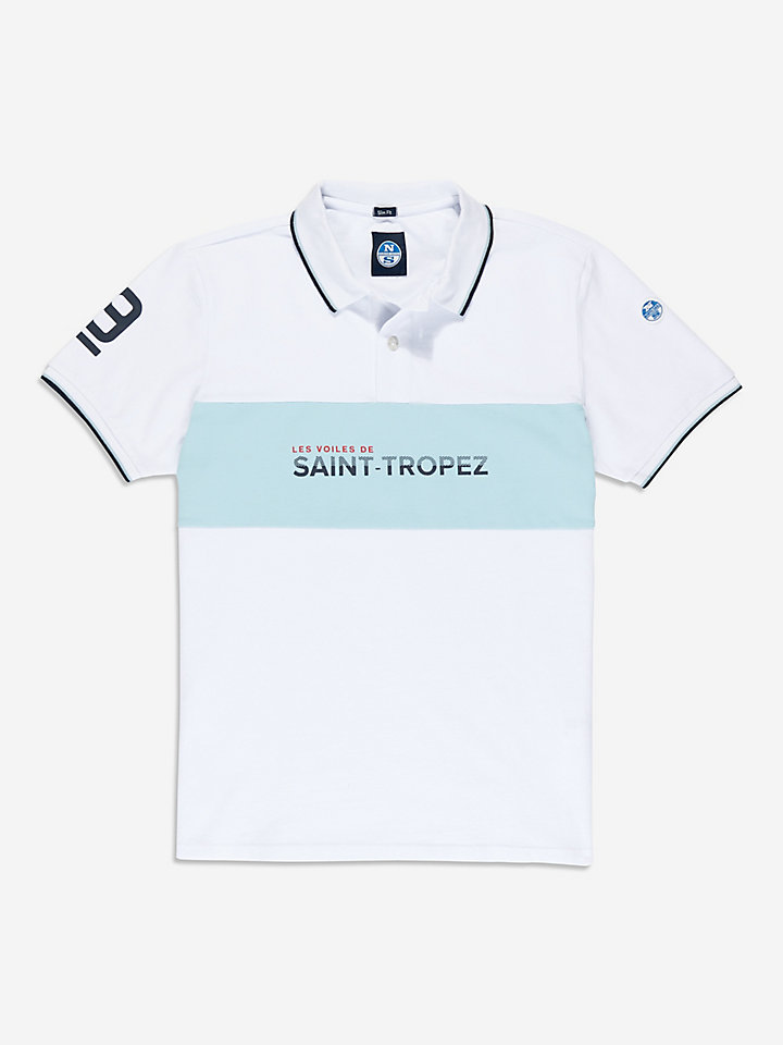 Saint-Tropez Race Day Polo Stretch