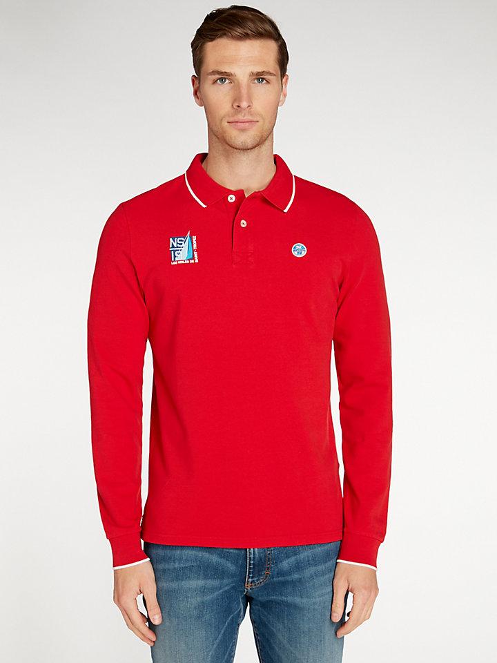 Saint-Tropez Official Polo L/S Stretch