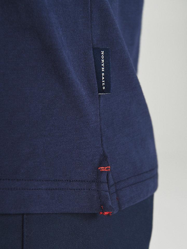 Saint-Tropez Brushed Jersey Polo Shirt