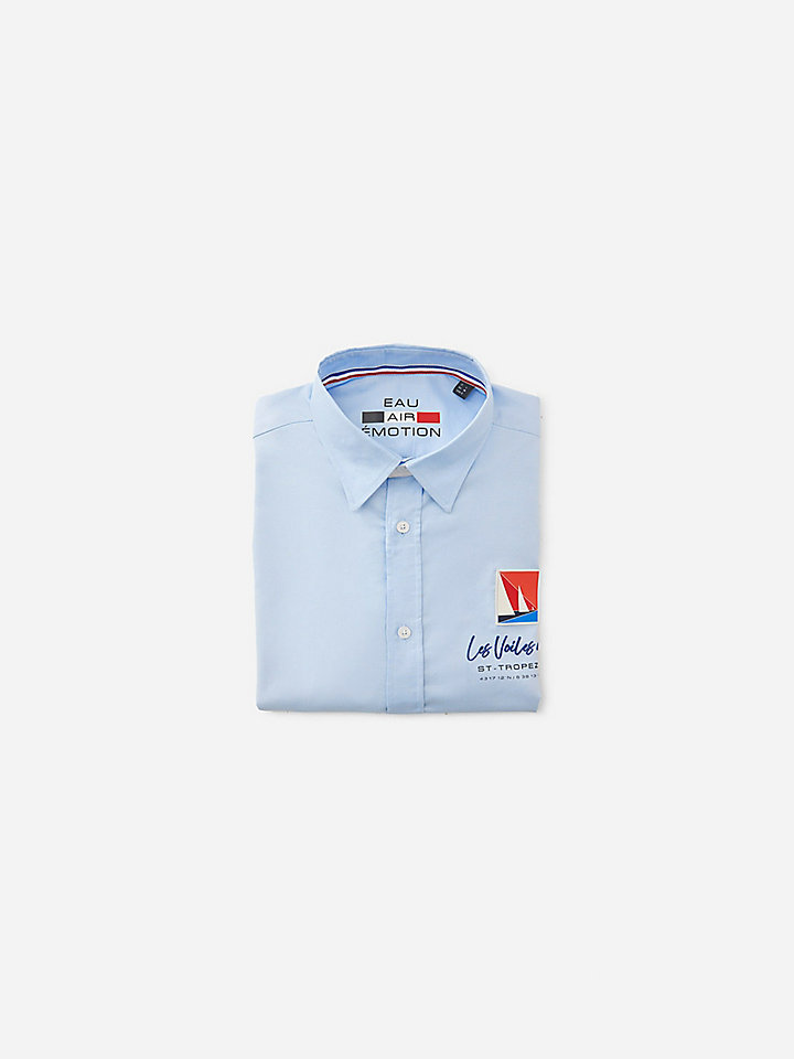Cotton Oxford shirt