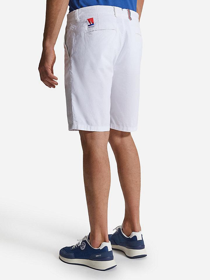 Poplin chino shorts