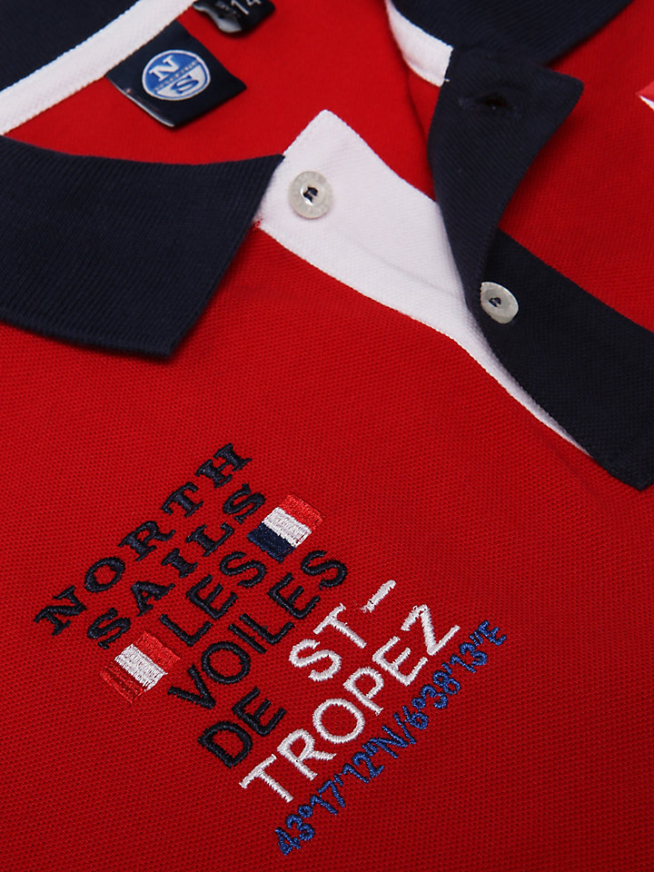 Saint-Tropez Cotton Polo Shirt