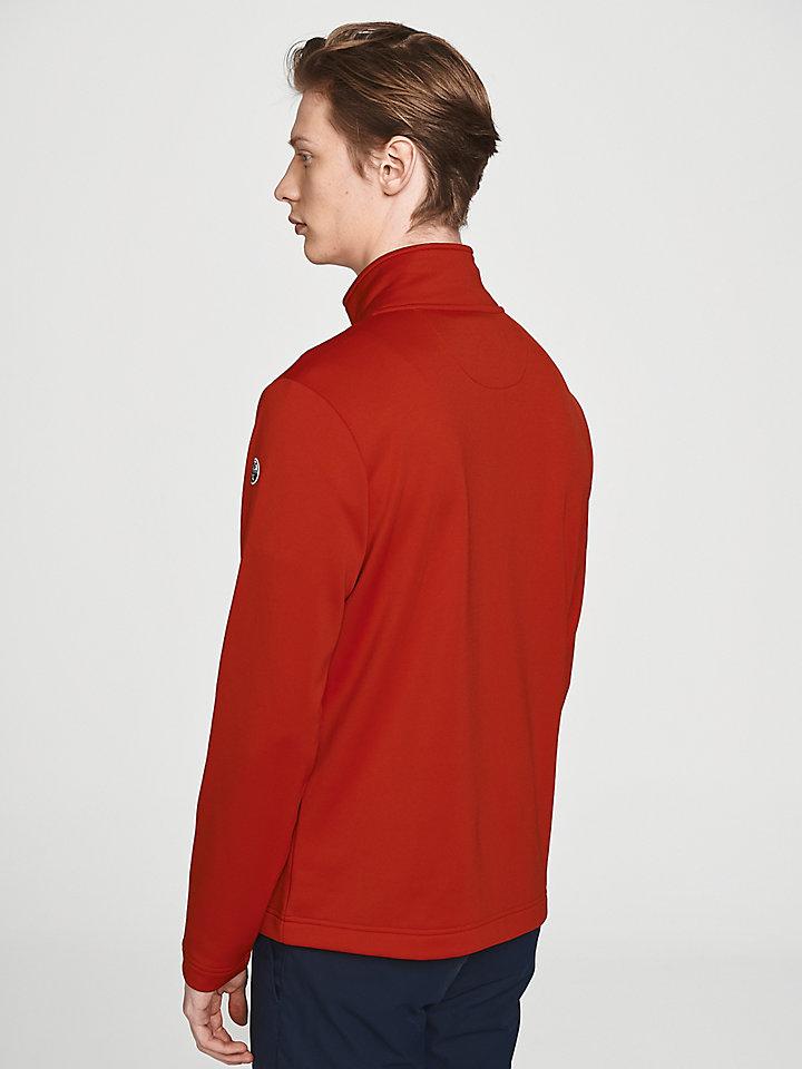 Cowes-sweatshirt met rits
