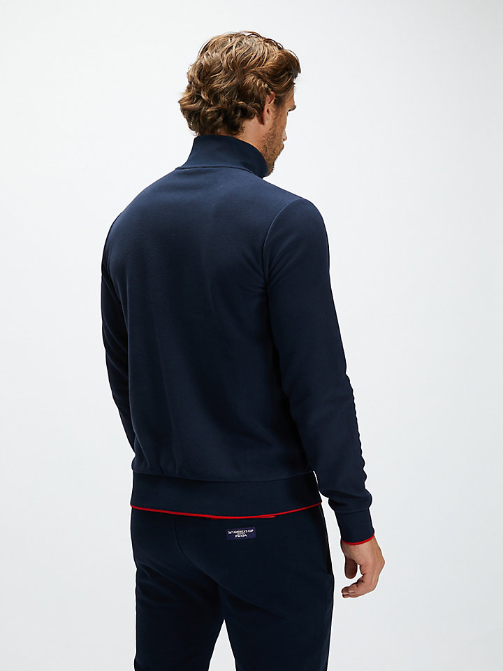 Kurow Zip-Up Sweatshirt