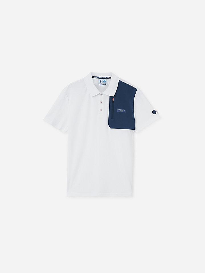 Otara Recycled piqué polo shirt