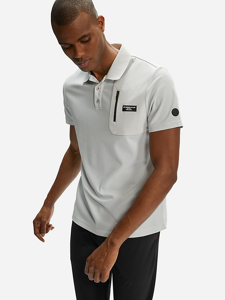 Otara Recycled piqué polo shirt