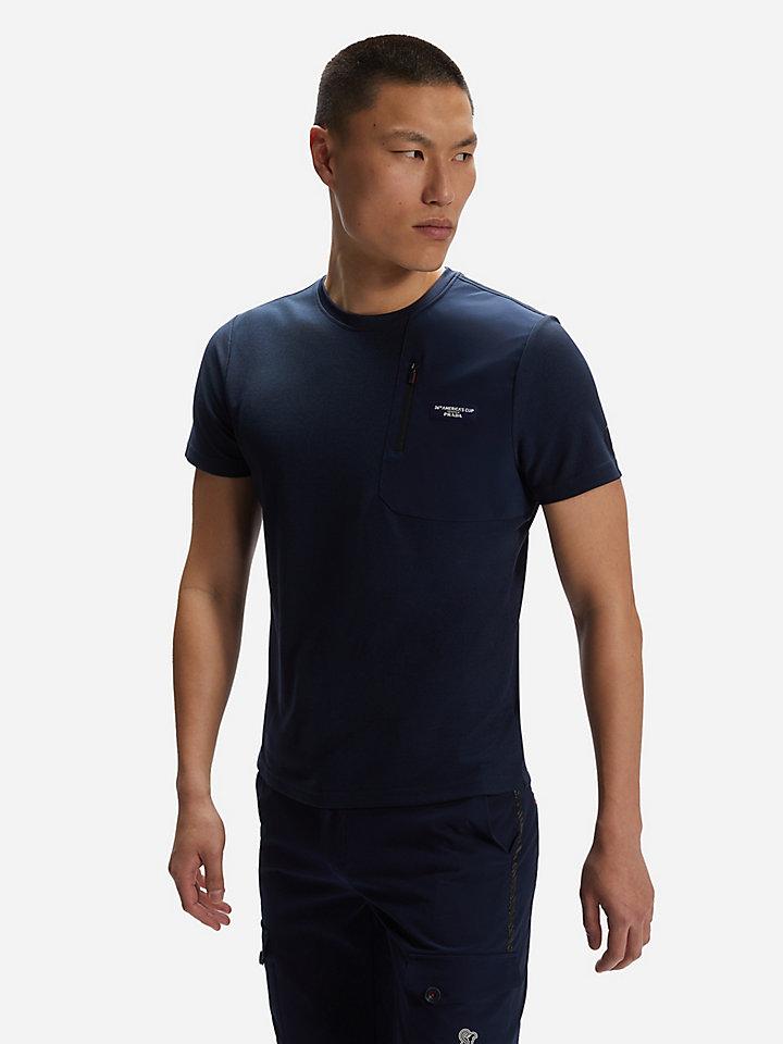 Recycled piqué T-shirt