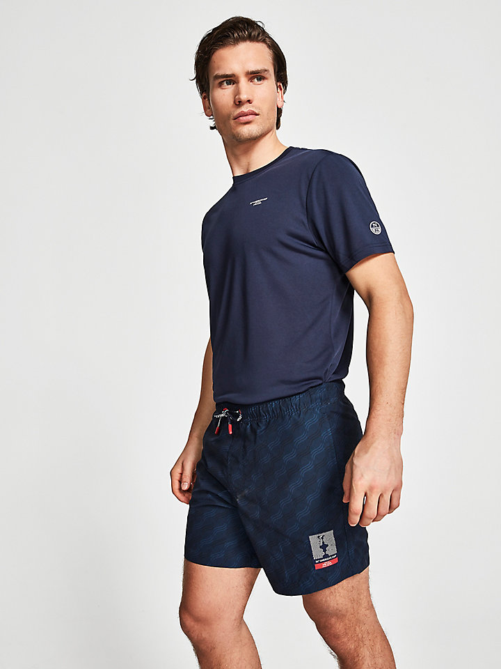 America's Cup swim trunks
