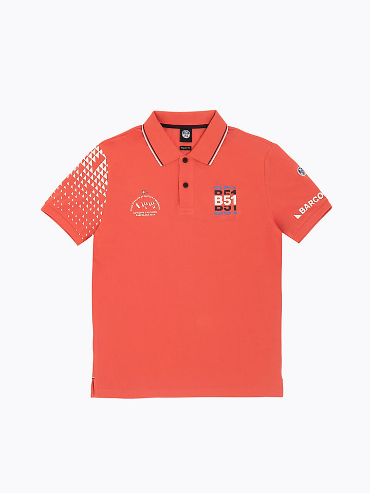polo s/s w/graphic