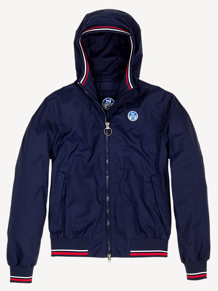 Sailor Jacket Hooded