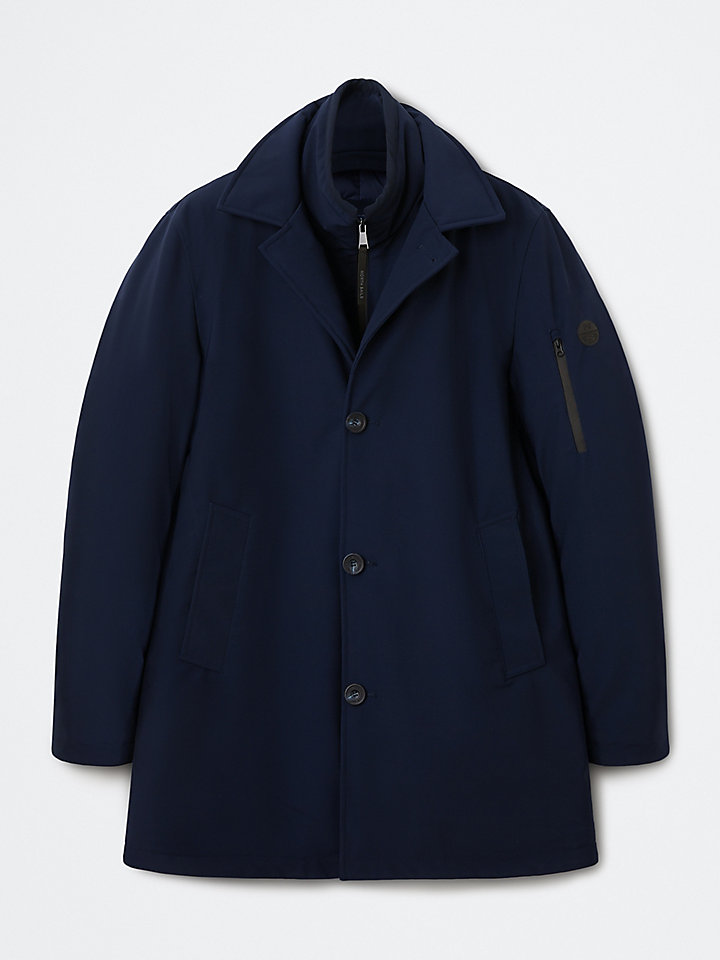 The Blue Trench Coat